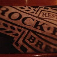 Photo taken at Rock Bottom Restaurant & Brewery by Stephanie Z. on 1/10/2013