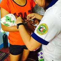 Photo taken at gustilo health station by Xtinah J. on 2/4/2015