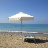 Photo taken at Pissouri Beach by TheLex on 7/7/2013