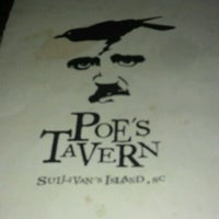 Photo taken at Poe's Tavern by elizabeth v. on 11/10/2012