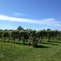 Photo taken at Crossing Vineyards and Winery by Rebecca on 8/25/2013