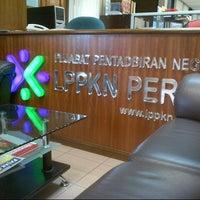 Photo taken at Pusat Pentadbiran LPPKN Ipoh,Perak by Fatihah The Reds Z. on 12/14/2012