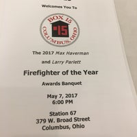 Photo taken at Columbus Firefighters Union IAFF Local 67 by Julie F. on 5/7/2017