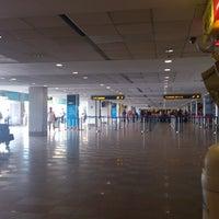 Photo taken at Nadi International Airport (NAN) by Tina J. on 1/15/2013