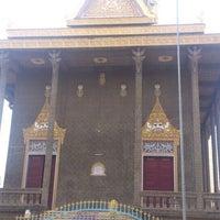 Photo taken at Wat Moha Montrei by Tina J. on 6/22/2013