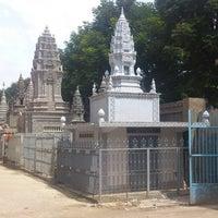 Photo taken at Wat Moha Montrei by Tina J. on 6/21/2013