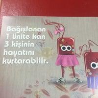 Photo taken at Kızılay Kan Bağışı Merkezi by Yeliz D. on 4/21/2016