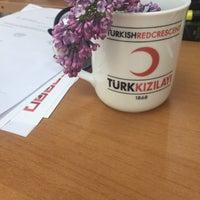 Photo taken at Kızılay Kan Bağışı Merkezi by Yeliz D. on 4/14/2016