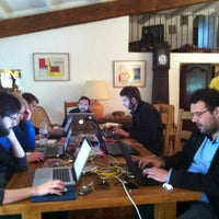 Photo taken at 50ASouthCoworking by Nicolas B. on 10/1/2012
