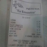 Foto tirada no(a) Restaurante La Romántica por Noelia S. em 3/30/2014