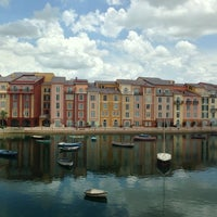 Photo taken at Loews Portofino Bay Hotel at Universal Orlando by Tessa M. on 6/21/2013