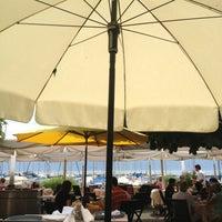 Photo taken at Restaurant du Port de Pully by Cynthia K. on 7/28/2013