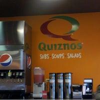 Photo taken at Quiznos by David M. on 5/3/2013