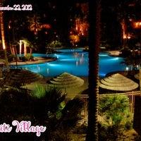 Photo taken at Tahiti Village Resort by Juliet V. on 12/22/2012