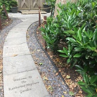 Photo taken at Katharine Hepburn Garden by Deena B. on 6/3/2017