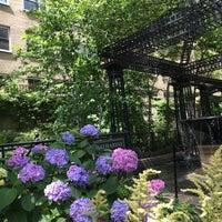 Photo taken at Katharine Hepburn Garden by Deena B. on 6/29/2017