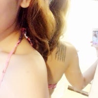Photo taken at swimming pool 👙 by Khao-fang on 10/18/2014