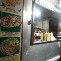Photo taken at El Rey Del Taco Truck by Matt S. on 12/2/2012