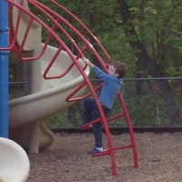 Photo taken at Poynter St Playground by Tracy B. on 5/3/2013