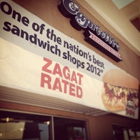 Photo taken at Capriotti's Sandwich Shop by Jason S. on 4/22/2013