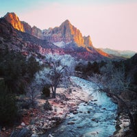 Photo taken at Zion National Park by Brian D. on 2/26/2013