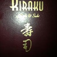 Photo taken at Kiraku Hibachi & Sushi by Lee O. on 11/9/2012