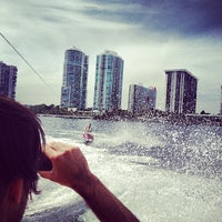 Photo taken at Brickell Place Marina by Abi B. on 3/9/2013
