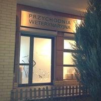 Photo taken at Przychodnia Weterynaryjna R. Gruszka by tomasz jakub s. on 11/28/2012