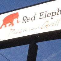 Photo taken at Red Elephant Pizza and Grille by Lory V. on 10/15/2012