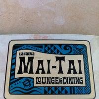 Photo taken at Lahaina Mai Tai Lounge by Michael W. on 11/1/2012