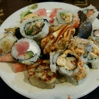 Photo taken at Sakura Japanese Buffet by Leslie S. on 9/24/2015