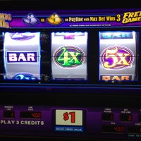 Photo taken at Casino at Ocean Downs by John B. on 4/3/2013
