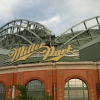 Photo taken at Miller Park by Jake H. on 6/3/2013
