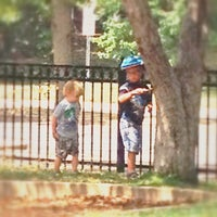 Photo taken at DeMun Park by Angie M. on 7/29/2014