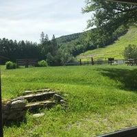 Photo taken at Mittersill Alpine Resort Franconia by Nicole F. on 6/17/2017