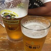 Photo taken at Yataimura Beer Garden by y0kS on 1/19/2016