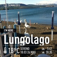 Photo taken at Lungolago Bracciano by Davide D. on 5/26/2013