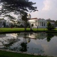 Photo taken at Bogor Palace by Emmanuel J. on 6/22/2013