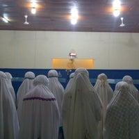 Photo taken at Masjid Al Muqtasidin FE UII by Siti R. on 7/20/2013