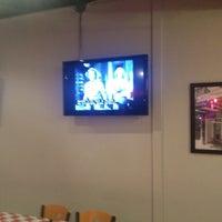 Photo taken at Greek's Pizzeria by Ali B. on 10/20/2012
