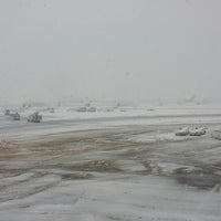 Photo taken at Gate A17 by Greg on 2/3/2014