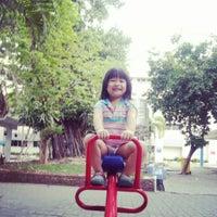 Photo taken at สนามเด็กเล่น โรจนวิิทย์ by ทัชพล ป. on 5/24/2013