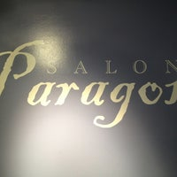 Photo taken at Paragon Salon by Brian S. on 2/4/2013