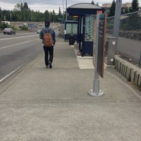 Photo taken at Sound Transit Bus Stop #71335 by Christopher S. on 5/12/2015