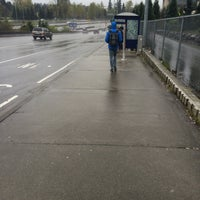 Photo taken at Sound Transit Bus Stop #71335 by Christopher S. on 4/14/2015