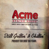 Photo taken at Acme Oyster House - Baton Rouge by Jeff C. on 1/24/2013