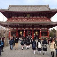 Photo taken at Hozomon Gate by Norifumi O. on 2/22/2013