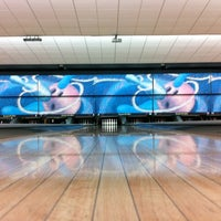Photo taken at SuperStrike by Adam T. on 12/1/2012