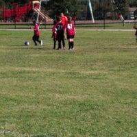 Photo taken at Deepwater Soccer Fields by Desiree B. on 10/20/2012
