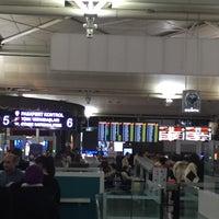 Photo taken at International Terminal Departure by Ferit C. on 2/26/2017